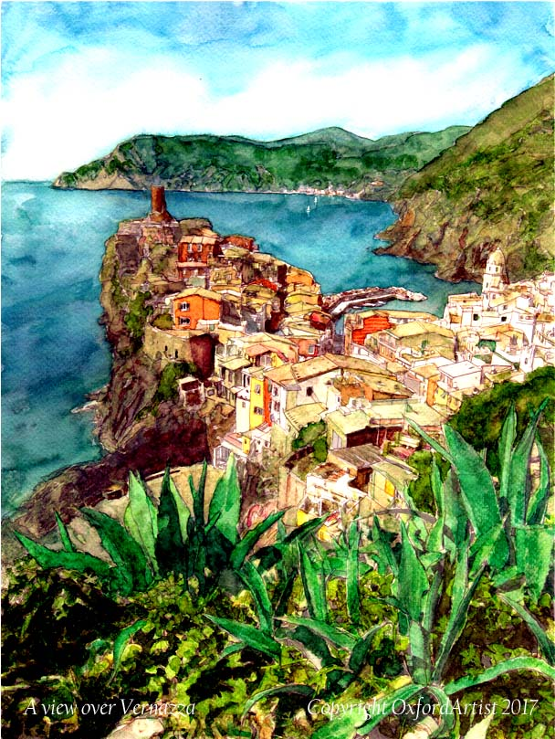 076 A view over Vernazza cc 600x800