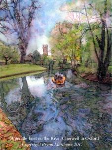 Cherwell paddle-boat 6x8 cc