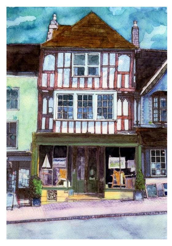 Manfred Schotten Antiques 109 High Street Burford CR 6 x 8