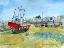 Tenby harbour 1b 7.5 x 10 cc