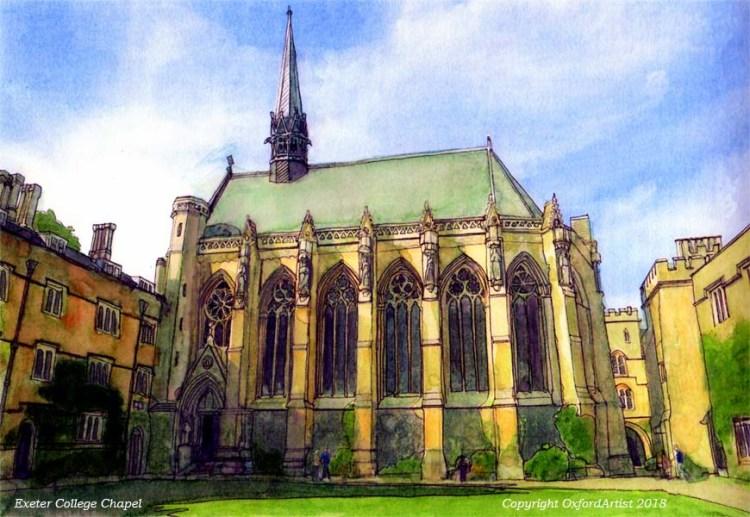 Exeter Chapel 2m 6 x8 cc