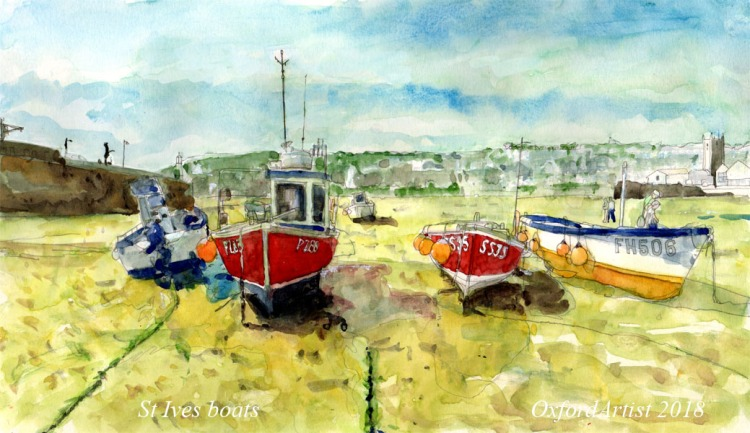 St Ives boats 4 at 6 x 10 cc